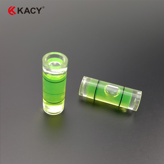 KACY 20PCS 8X23mm  Level frame level Support level bubble equilibrium bubble blisters that hang a picture Cylindrical level