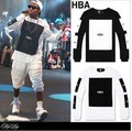 NEW Hood By Air HOT HBA Graphic T-shirt pyrex X Been Tril tee Kanye West Hip-Hop