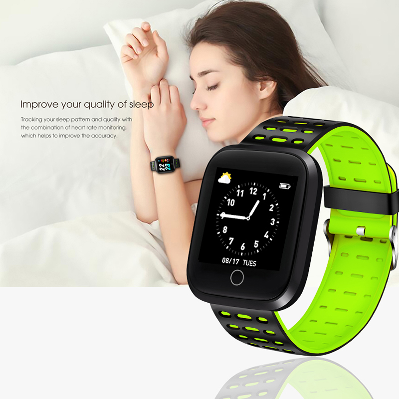 Lige Smart Wristband Sport Watch Fitness Tracker Bluetooth