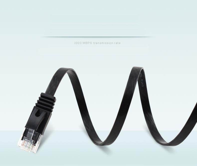 10 M 33FT de alambre de cobre puro CAT6 plana UTP Cable de red Ethernet RJ45 parche cable LAN color blanco negro Convertidor de medios ópticos de fibra de interruptor Gigabit Ethernet PCBA 8 RJ45 UTP y 2 puertos de fibra SC 10/100/ 1000 M placa PCB