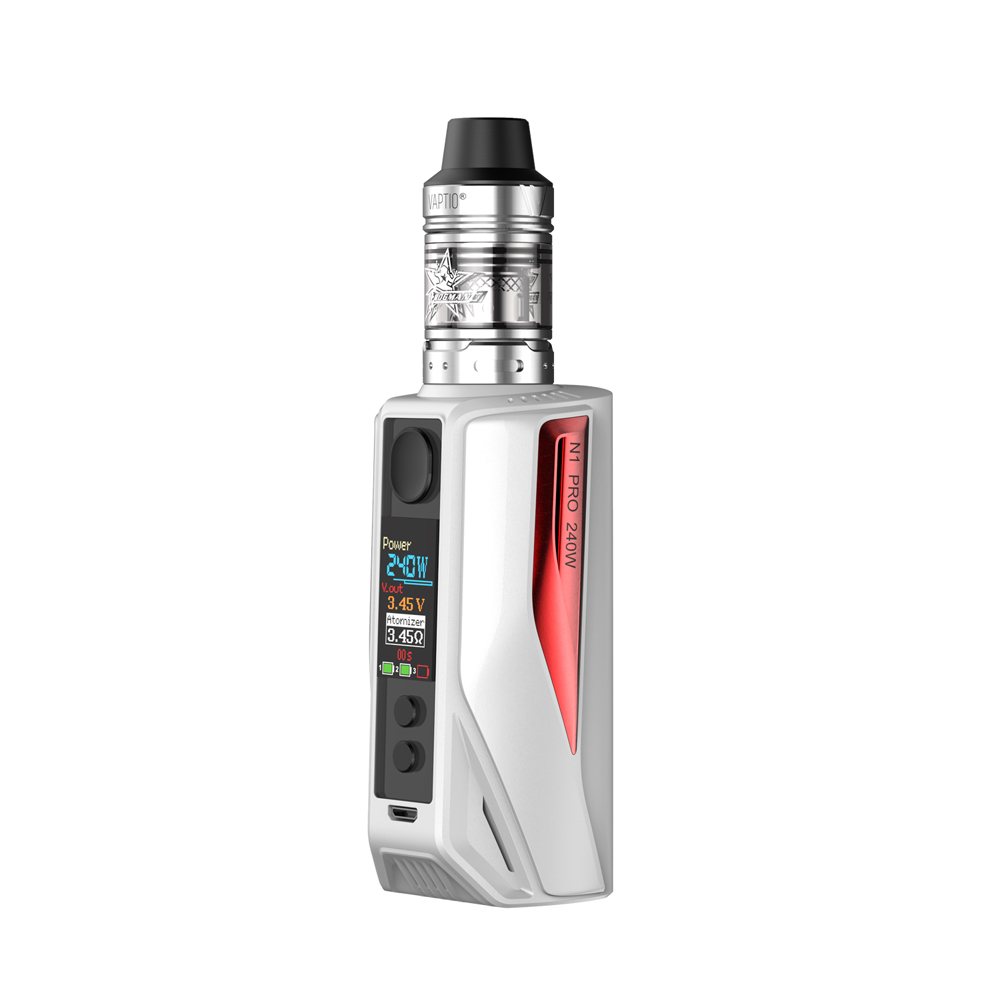 Cigarette électronique Vaptio 240 W N1 pro kit 2.0 ml VAPORISATEUR Frogman Réservoir externe 18650 cellule de batterie * 2/3 pas inclus vaporisateur kit - 4