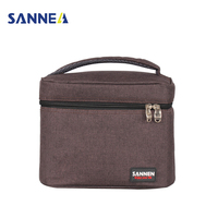 TANGIMP 5L Rectangle Insulated Lunch Bags For Women Kids Cooler Box Oxford Thermal Food Picnic Storage