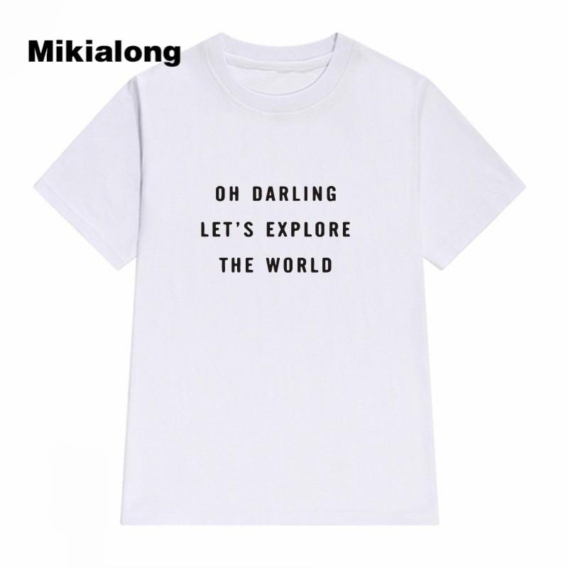 Best buy ) }}2017 Summer Harajuku Feminist T Shirt Women Funny