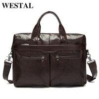 Factory Directly 100 Genuine Leather JMD Vintage Men S Black Handbag Messenger Bag Laptop Briefcase Free