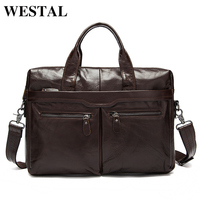 Factory Directly 100 Genuine Leather JMD Vintage Men S Black Handbag Messenger Bag Laptop Briefcase Free