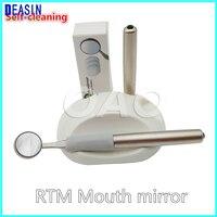 Стоматологический Протос Odontologicos перезаряжаемый противотуманный самоочищающийся зубной РТМ щетка для языка зеркало зубной рта РТМ зеркал