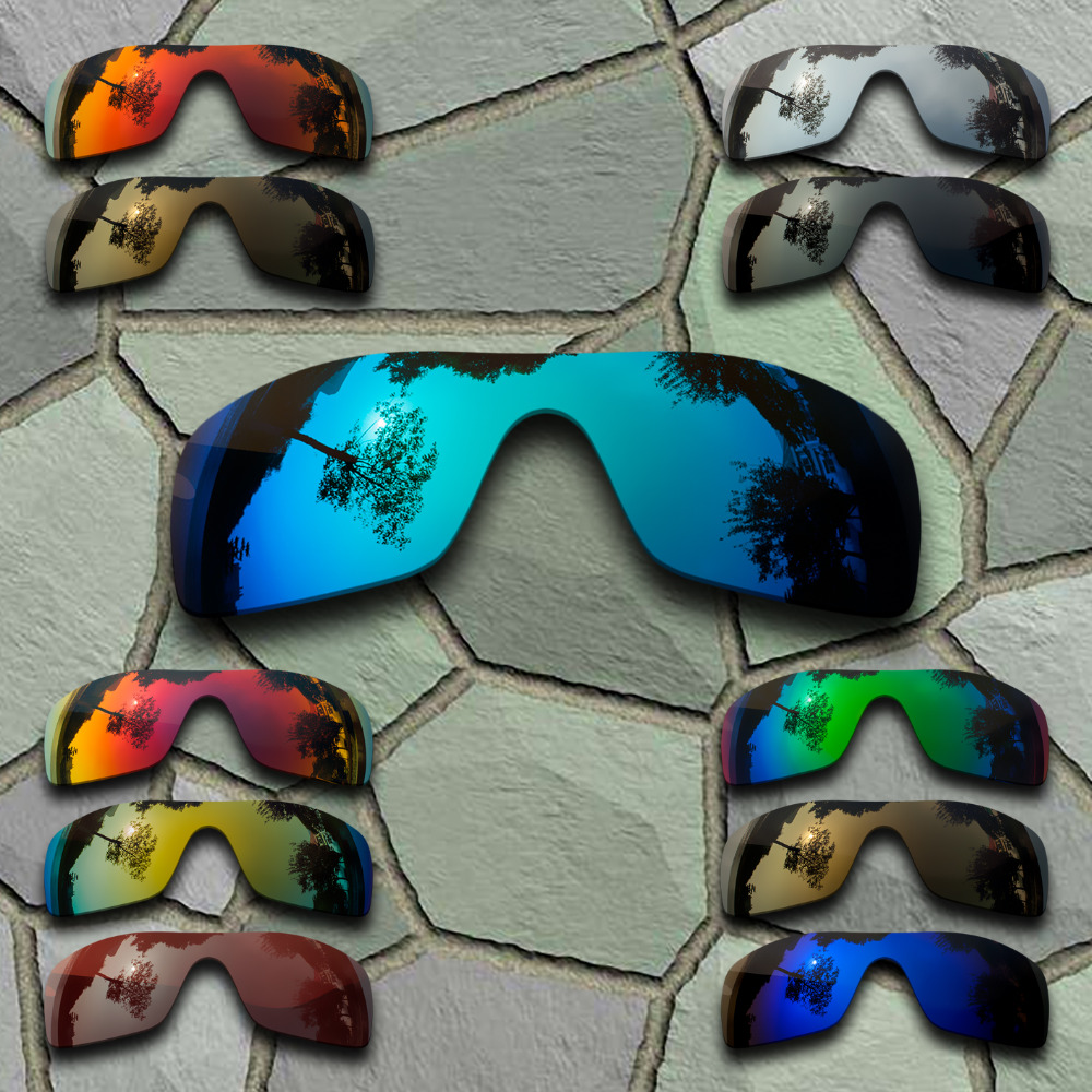 Sunglasses Polarized Replacement Lenses for Oakley Batwolf - Varieties
