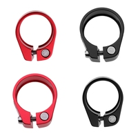 Ultralight Bike Seatpost Clamp Seat Post Lock Fastened Clamps MTB Mountain Road Bike Parts  for 30.4/30.8/30.9/31.6mm Seatpost