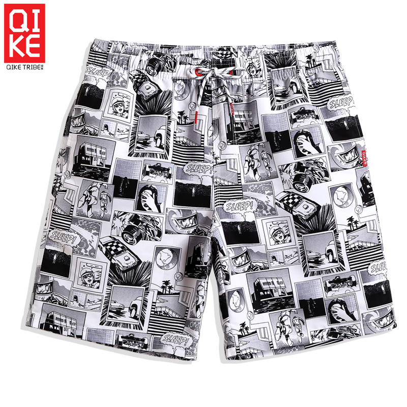 Board     shorts   Men's Swimming trunks quick dry surfing plus size camouflage praia liner swimsuit sport de bain homme breathable