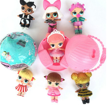 LOL Surprise Doll Series 1 Color Change Egg Ball Toys Dress Up Toy Action Figure Dolls Funny Toys Girls Gift Randomly Sent