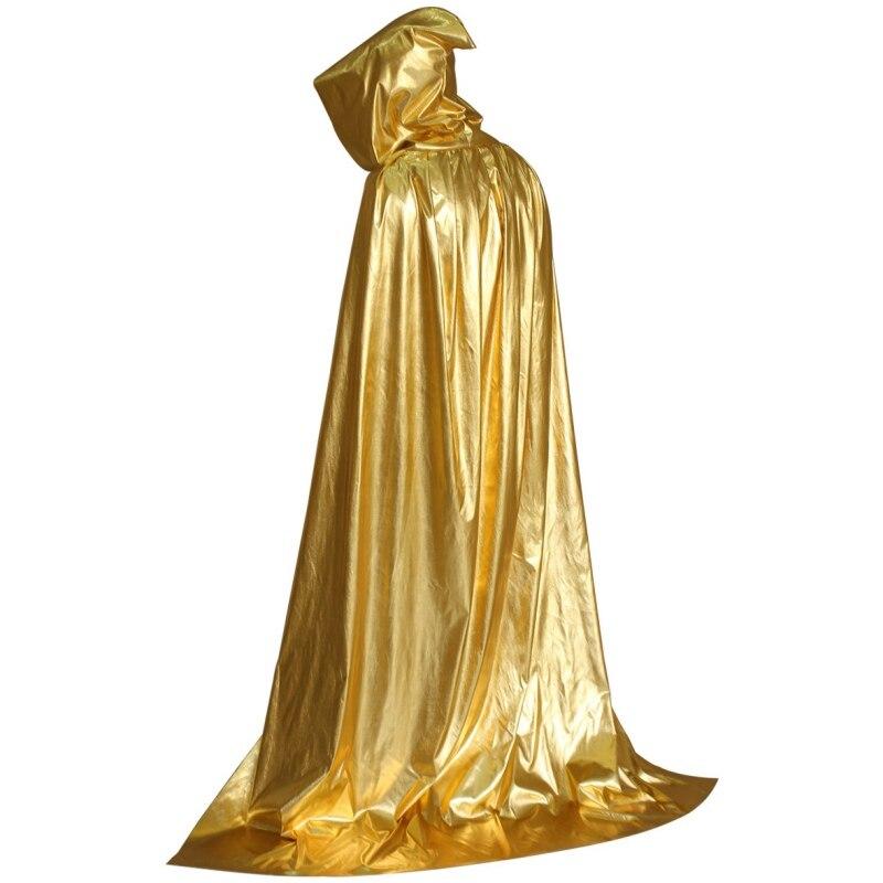 Vampiro capa con capucha Medieval bruja Robe cabo piso-longitud traje de Halloween nuevo
