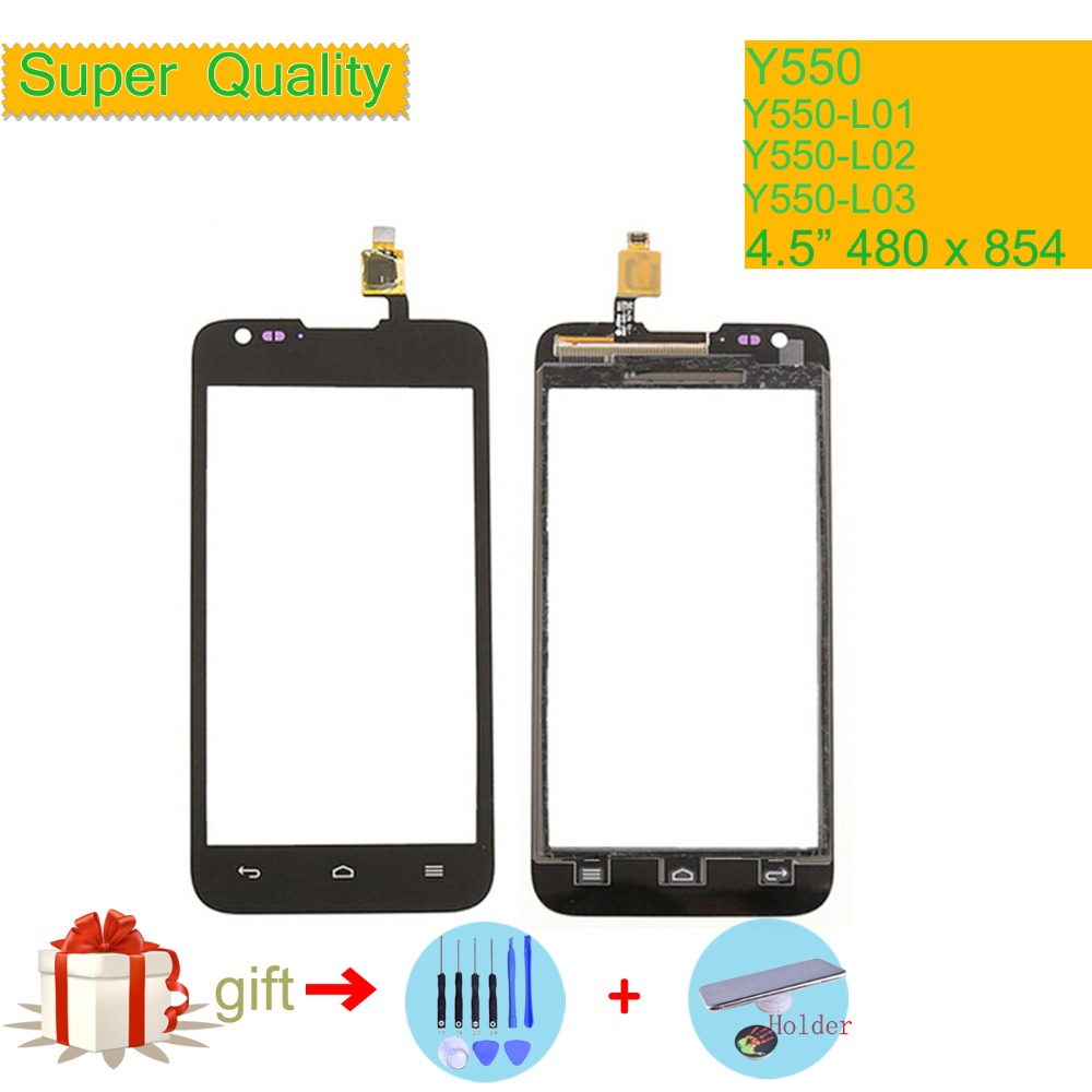 For Huawei Ascend Y550 Y550-L01 Y550-L02 Y550-L03 Touch Screen Touch Panel Sensor Digitizer Front Glass Touchscreen NO LCD Y 550