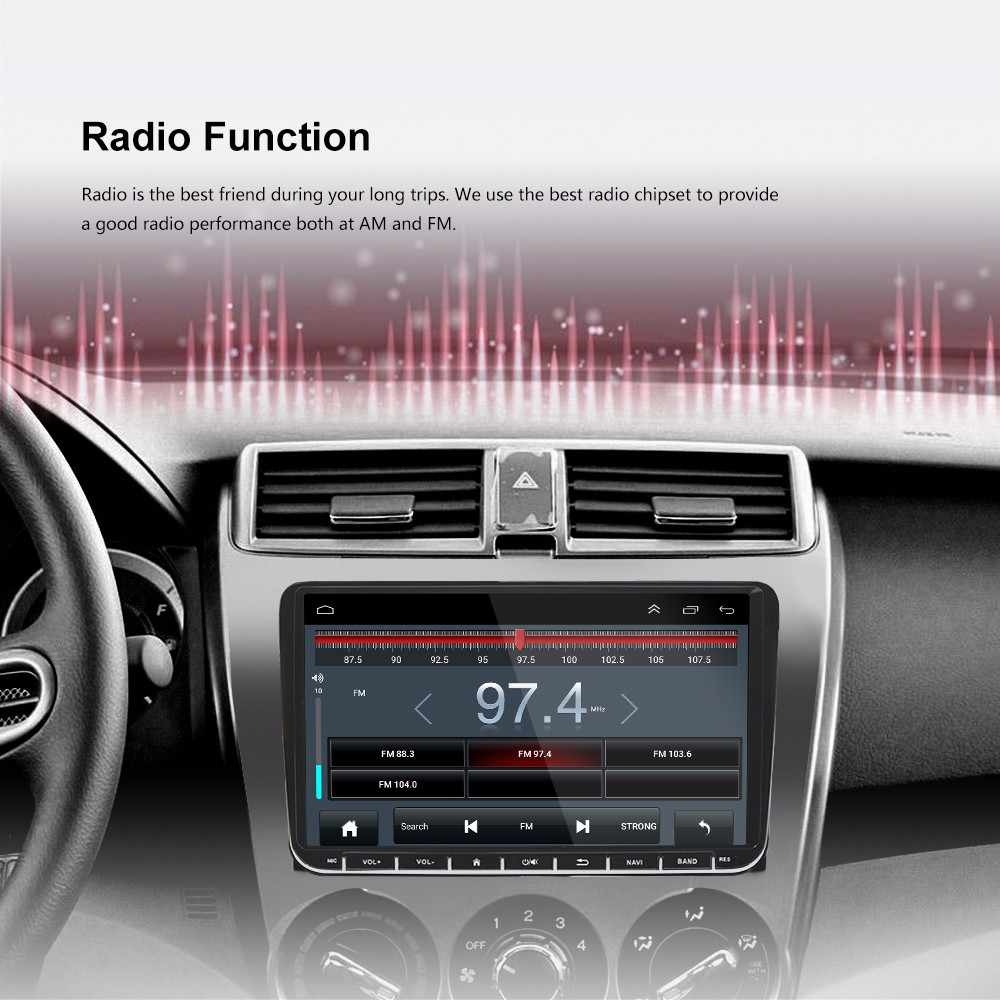 9 дюймов Сенсорный экран 2din автомобильный мультимедийный для Volkswagen Golf, Volkswagen Polo Jetta Passat Tiguan с 4G SIM gps Bluetooth fm радио USB Canbus 2 Гб оперативной памяти, 32 Гб встроенной памяти