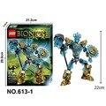 KSZ Bevle 2017 Nuevo Estilo 613-1 Bioquímica Guerrero Bionicle Ekimu El Msdk Fabricante de Juguetes de Bloques de Construcción Compatibles Legoe 71312