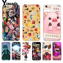 Yinuoda Mabel Gravity Falls Comic Coque Shell Phone Case for iPhone 8 7 6 6S Plus X 5 5S XS XR XR11 11pro 11promax