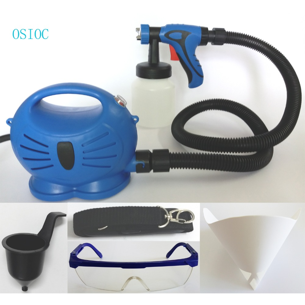 Electric Spray Gun With air compressor 3 Spray Patterns paint Sprayer Hvlp Automotive Airbrush Paint Pistol