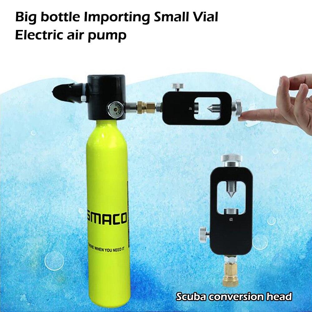 Mini réservoir d'oxygène de plongée sous-marine respirateur respiratoire bouteille d'oxygène équipement de natation adulte - 4