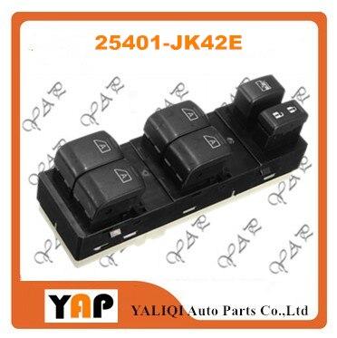 Power Window Lifter Switch FOR FITInfiniti G25 G35 G37 Q40 2.5L 3.5L 3.7L V6 FRONT Left 25401 JK42E 25401 JK40A 2007 2015