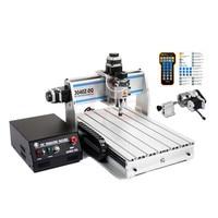 300W DIY CNC Engraving Machine 3040Z DQ USB Port Ball Screw PCB ER11 Collet 4030 Cnc