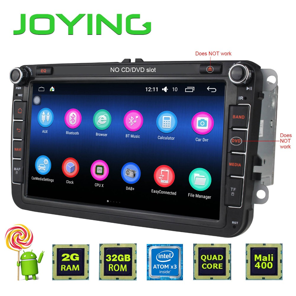 joying 2 din android 5 1 quad core 2gb 32gb 1024 600 car. Black Bedroom Furniture Sets. Home Design Ideas