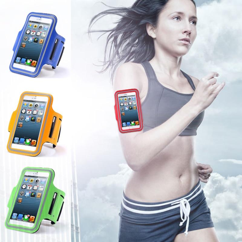 Running Outdoor Sport Arm Band Bag arm 5inch for HTC Sensation XL one X ST/SV T528T S Mini 601e M9 M8 M7 E8 A9 2mini M8MINI