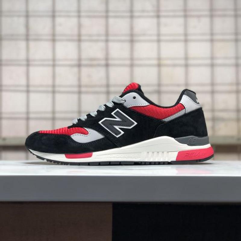 Nuovo arrivo NUOVO EQUILIBRIO NB 840 lover scarpe uomini e donne scarpe da badminton nero e rosso di ALTA QUALITÀ formato 36 -44