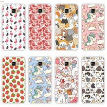 Phone Case For Samsung Galaxy A5 2016 Soft Silicone TPU Cute Patterned Paint For Samsung Galaxy A 5 2016 Case(China)