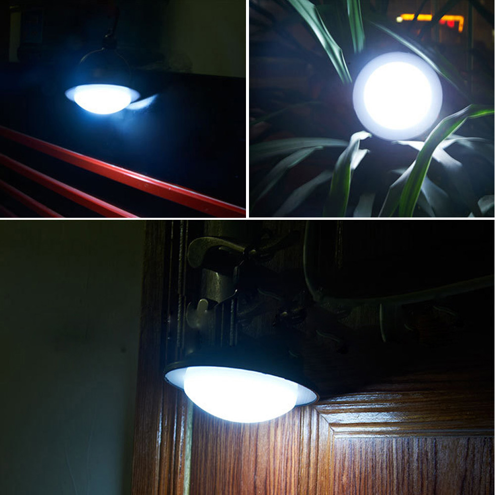 60LED Camping Fishing Outdoor Tent Night Light Lamp M Lantern Battery Charger