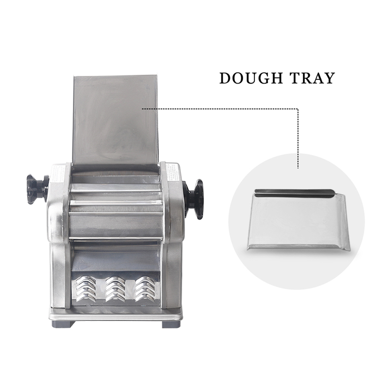 Stainless Steel 2 Blades Noodle Machine, 0.5-3mm Thickness Heavy Duty Noodle Maker,Pasta Maker Pasta Cutter Machine