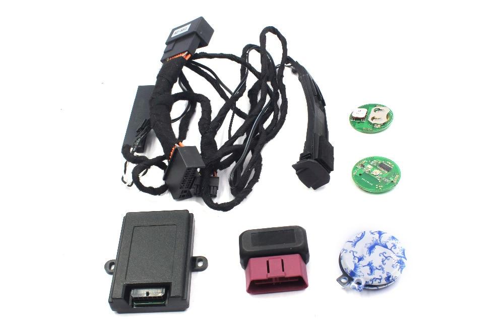 PLUSOBD alarme de voiture télédéverrouillage sans clé PKE confort Acess verrouillage Central automatique de voiture déverrouillage pour Audi A4L (2009-16) Q5 (2009-17)