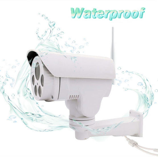 Yobang Security WIFI Wireless Security IP camera 5x Optical Zoom App Control Outdoor waterproof CCTV Camera TF Card Audio record image