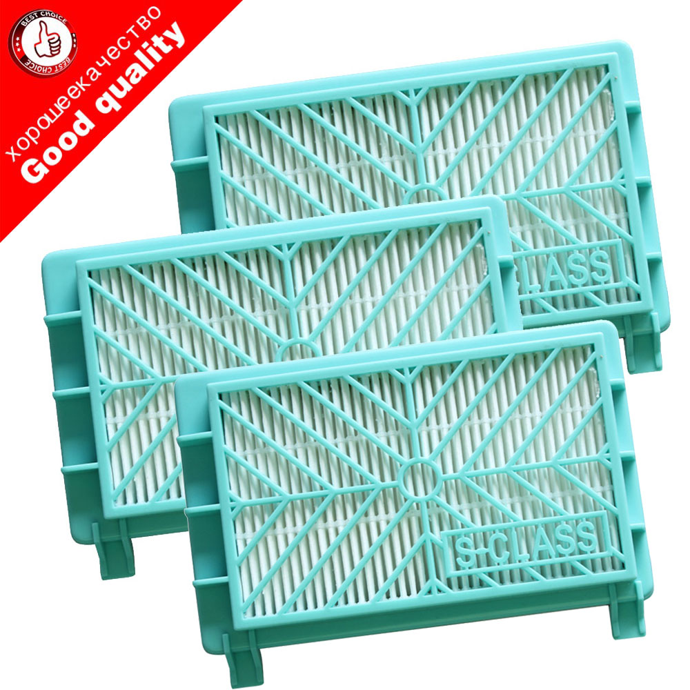 3pcs Vacuum Cleaner Accessories Parts Hepa Filter For Philips FC8912 FC8913 FC8915 FC8916 FC8917 FC8919 HR8374 HR8581 HR8582