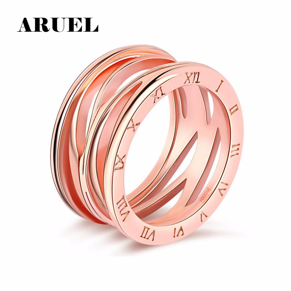 ERLUER fashion Rose gold Mickey Earrings of Women Wedding party ...