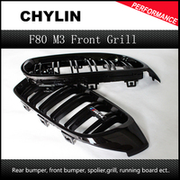 F32 F33 F36 F80 M3 F82 F83 ABS Front Grille For BMW 4 Series Gloss Black Racing Grille M3 M4 Coupe Sedan Cabriolet