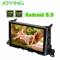 10.1Android 8.1 Car radio Stereo Head Unit GPS Navigation For Toyota Highlander 2015 2017 Multimedia Player Built in Amplifier