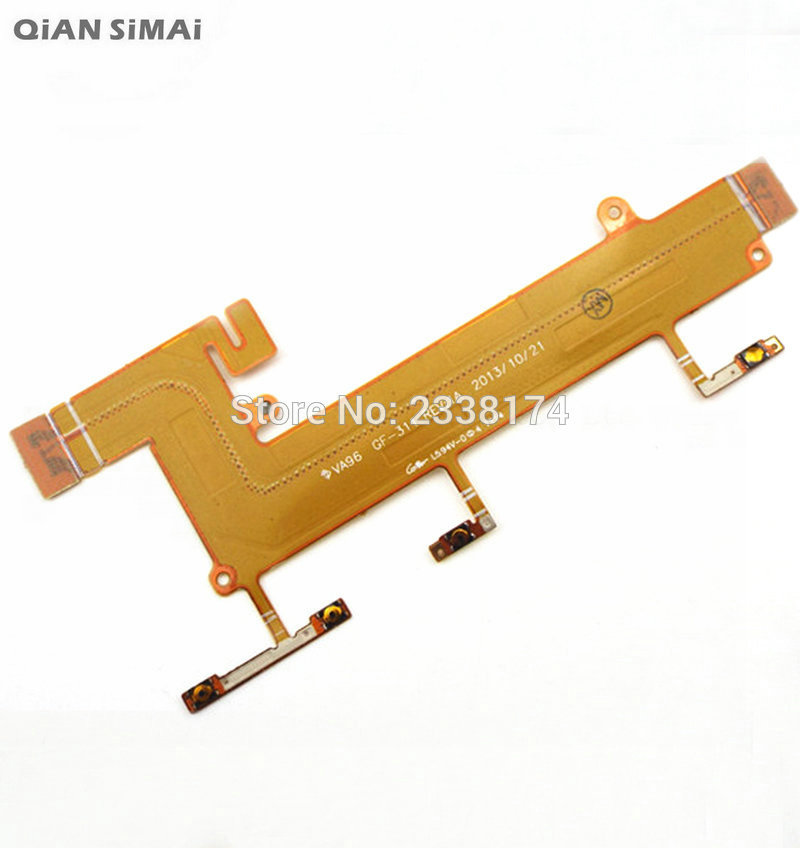 QiAN SiMAi For <font><b>Nokia</b></font> Lumia <font><b>1320</b></font> New Power on/off Button Flex Cable Repair <font><b>Parts</b></font> image