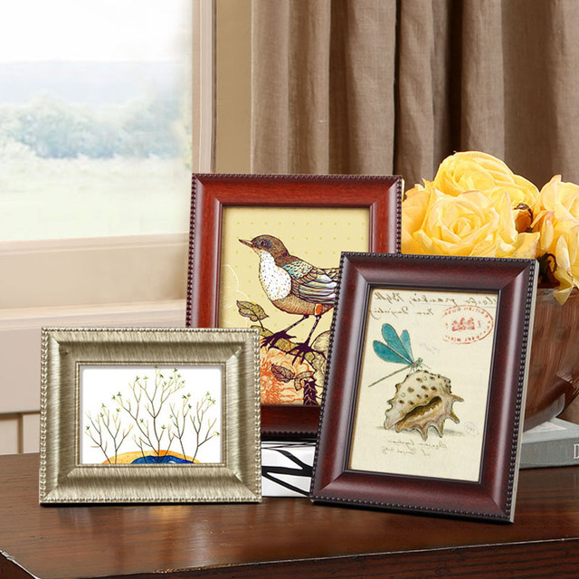 Aliexpress Buy Nostalgic Style Photo Frames Wall Or Desk