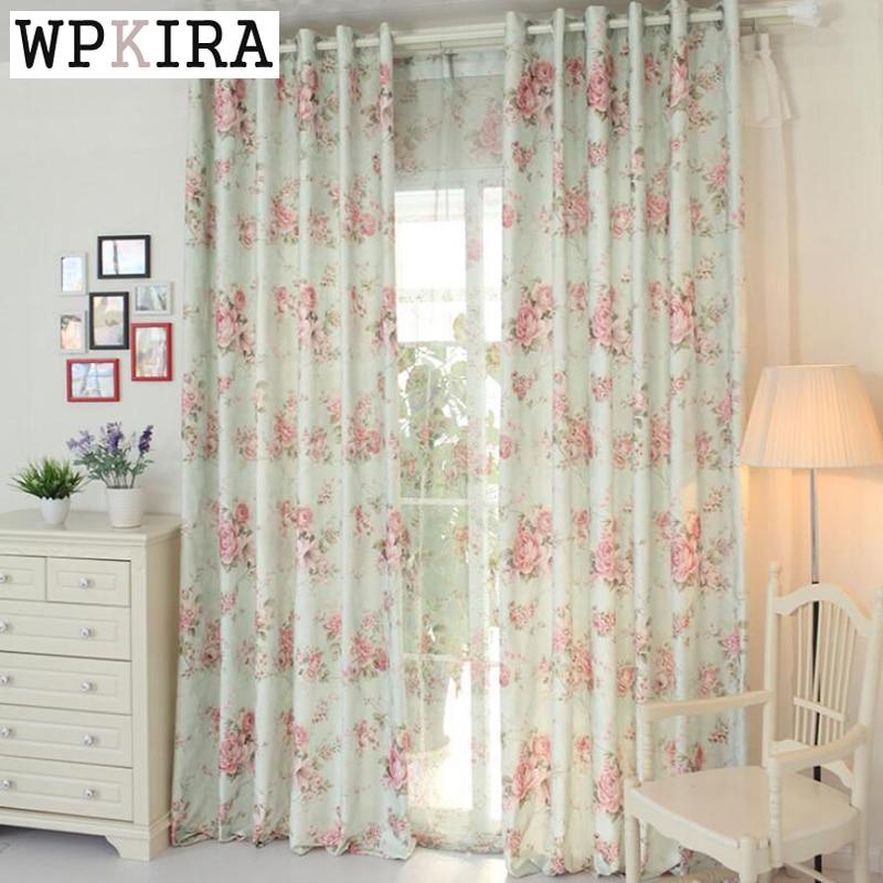 Buy Flower Cloth Fashion Curtain High Quality Curtain Yarn Curtains Floral