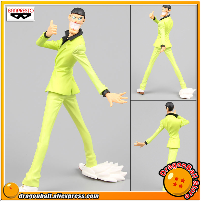 Japan Anime One Piece Original Banpresto Creator x Creator Collection Figure - BON.CLAY (green) japan anime one piece original banpresto creator x creator pvc collection figure dracule mihawk