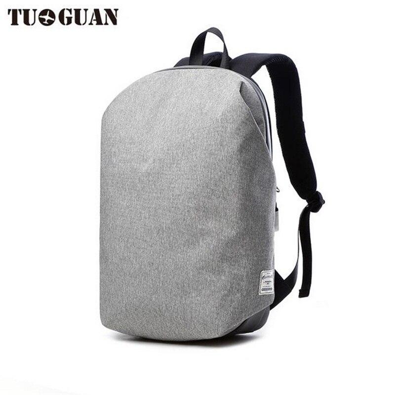 TUGUAN Men Anti-theft Backpack 15.6inch Laptop Bag Pack Waterproof Leisure Travel Mochila School Bag Teenage Male Rucksack New