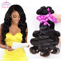 Grade 7a Malaysian Virgin Hair Body Wave 3 Bundles Rosa Hair  Products Malaysian Body Wave Unprocessed Human Hair Weave