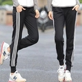 Spring Women Sweatpants New Fashion Slim Three Stripes All-Match Haren Pants Casual Lovers Sports Trousers Y13
