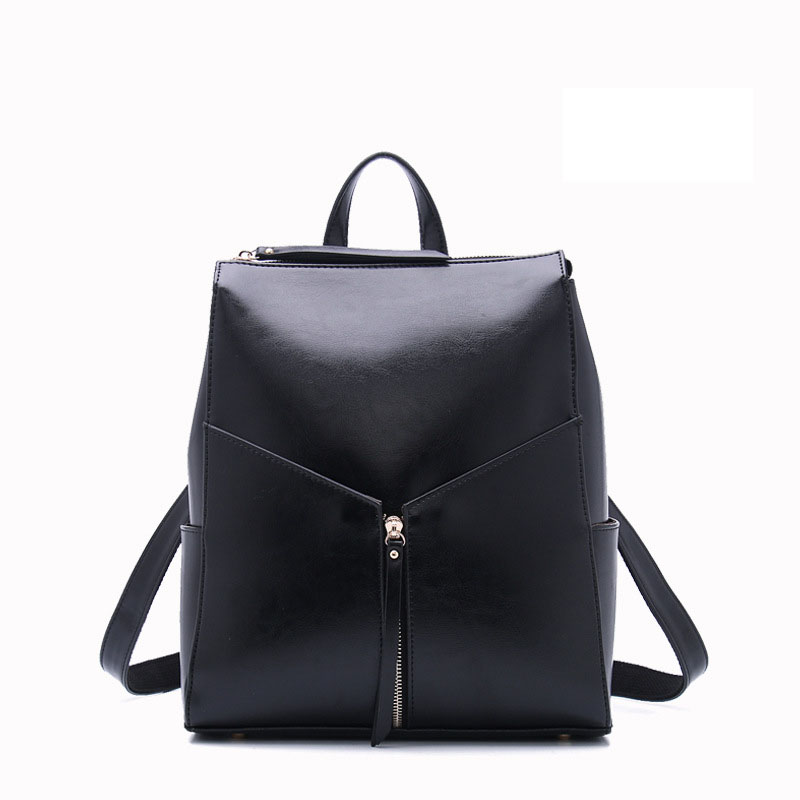 New leather backpack women luxury brand soft face Travel bags Korean fashion Calfskin vertical square oil wax women bag luxury oil wax genuine cow leather women backpack small women s travel bags multifunction korean fashion women shoulder bags