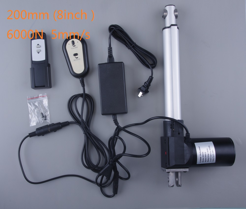 24V DC linear actuators set with power supply and handset for bed sofa chair use 1set