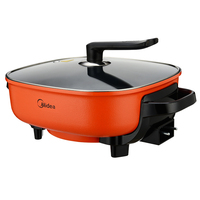 Electric Hot Pot Cooker Electric Chafing Dish Fasting Multi Cookers Big Capacity Frying Pots MC LHN30A