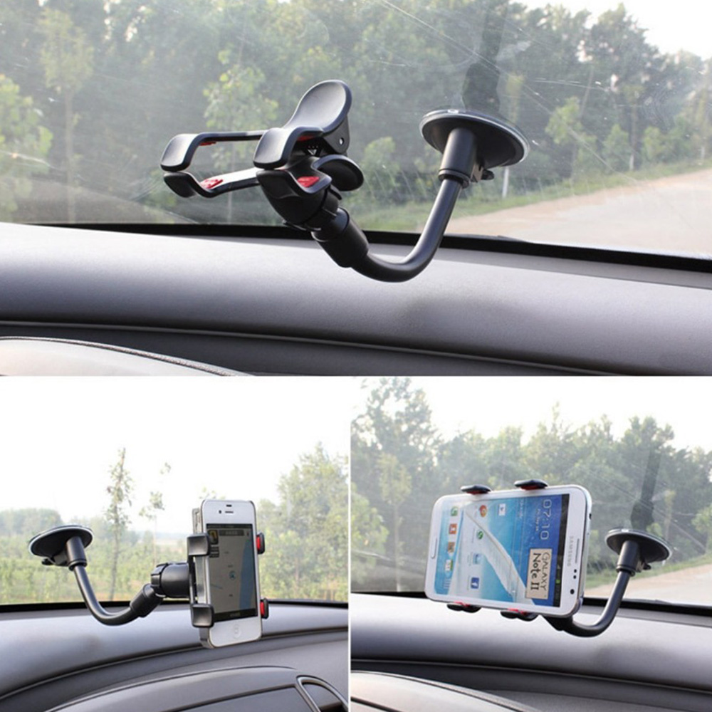 Guitar Phone Holder Stand Street Singing watch lyrics Song Car Holder Sucker Suction Cups Musicians Guitar Stand Car-Holder 360