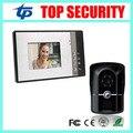 Хорошее качество проводной видео-дверной звонок IP65 водонепроницаемые двери контроля доступа 7 дюймов видео-телефон двери системы