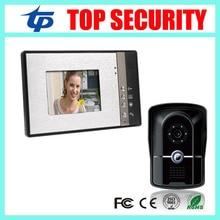 Good quality wired video door bell IP65 waterproof door access controll 7 inch video door phone system