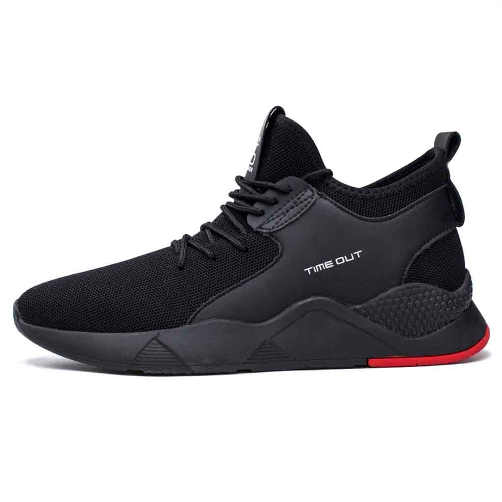 Klv Running Shoes Men 2019 Fashion Sneakers Flying Woven Trainers Fitness Sneaker Men 39 S Shoes High Quality Sneakers Of Men Harley-Davidson Sportster