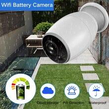 SDETER Перезаряжаемые Батарея энергии Открытый Всепогодный IP Камера WI-FI Беспроводной видеонаблюдения Камера Ночное видение двухстороннее обсуждение